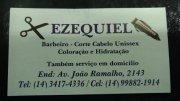 EZEQUIEL - Barbeiro - Corte Cabelo Unissex - Coloração e Hidratação