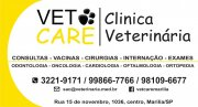 VET CARE - Clinica Veterinária
