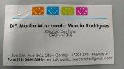 Dra. Marilia M.M. Rodrigues  ( Cirurgiã Dentista )